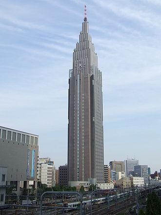 NTT DoCoMo - NTT Docomo Yoyogi Building in Shibuya, Tokyo