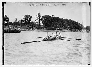 New York Athletic Club - NYAC crew in 1911