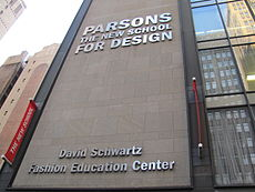 Image illustrative de l'article Parsons The New School for Design