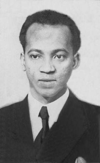 Philibert Tsiranana - Senator Norbert Zafimahova, representative of Madagascar in the Council of the Republic from 1948 to 1959