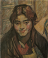 NakamuraTsune-1912-Portrait of a Girl.png