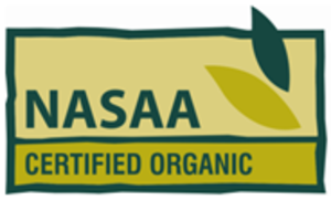 Organic certification - Image: Nasaa logo green revised