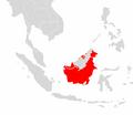 Nasalis larvatus range map.png