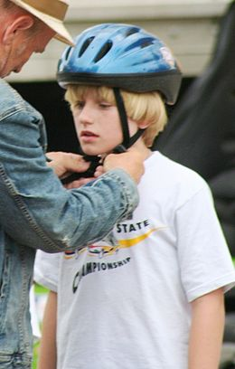 Nathan Gamble at the set of 25 Hill in Cleveland, July 2010.jpg