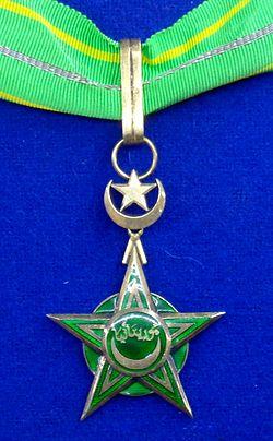 National Order of Merit grand officer badge (Mauritania) - Tallinn Museum of Orders.jpg