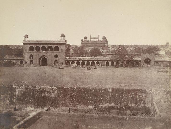Naubat Khana Red Fort 1857