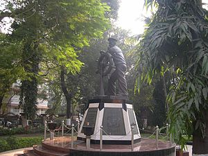 Royal Indian Navy mutiny - Naval Uprising Statue, Colaba, Mumbai