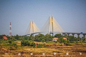 Prey Veng Province - Neak Loeung Bridge