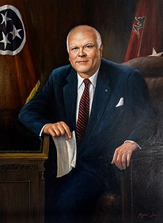 Ned McWherter Governor of Tennessee & Speaker of the Tennessee House of Representatives
