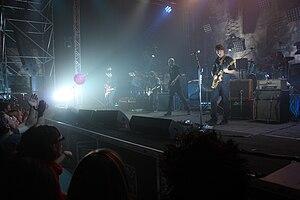 Negrita - Negrita performing in Borgo Valsugana during their HELLdorado tour in 2009