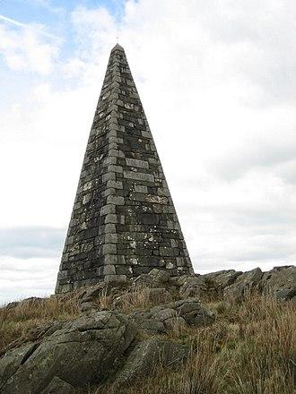 James Beaumont Neilson - Neilson's Monument near Ringford, Kirkcudbrightshire