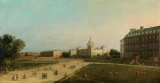 London: the New Horse Guards from St James's Park