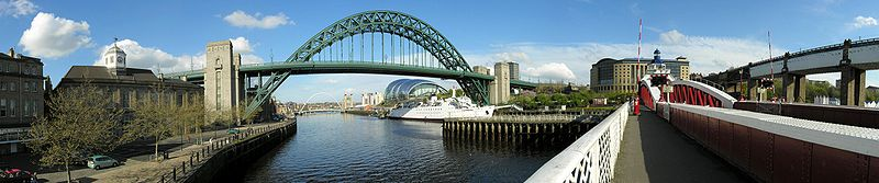 Newcastle Quayside has seen a large amount of redevelopment and investment in recent years.