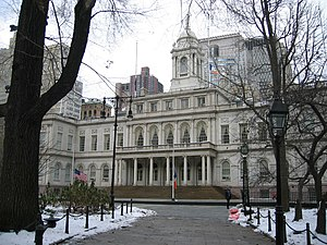 New York City Hall, NYC.
