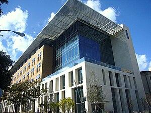 English: The Norman Hackerman Building at the ...