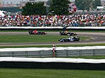 Nico Rosberg, David Coulthard and Vitantonio Liuzzi 2006 Indianapolis.jpg