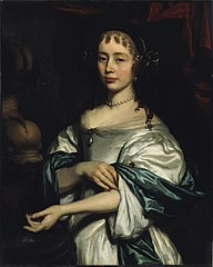 Portrait of a Woman by a Fountain