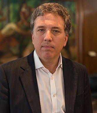 Nicolás Dujovne - Image: Nicolas Dujovne (cropped)