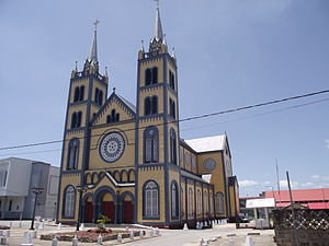 Religion in Suriname - Cathedral of Saint Peter and Paul in Paramaribo.