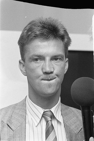 Louis van Gaal - Van Gaal in 1988 as assistant manager with Ajax.