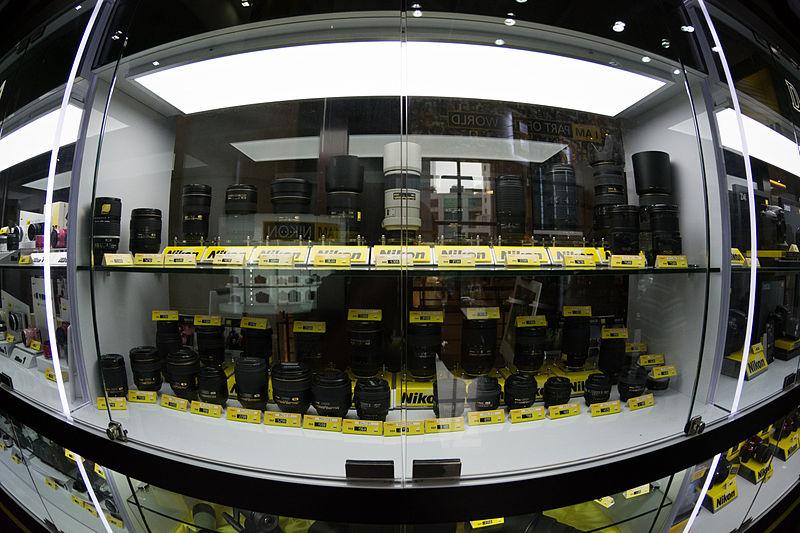 File:Nikkor Lens Showcase @ Berjaya Times Square's Nikon Centre.jpg