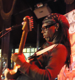 Nile Rodgers performing in 2012