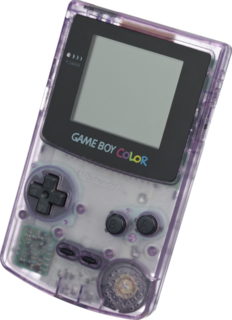 Game Boy Color Handheld game console
