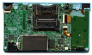 Nintendo DSi - Image: Nintendo D Si main and sub pcb