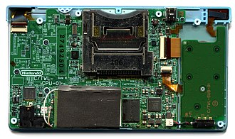 Nintendo DSi - The DSi's main and sub-printed circuit boards