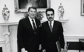 Nizar Hamdoon presents credentials to Reagan.jpg