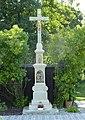 Nošovice, kříž v zahradě čp. 18 (1).JPG