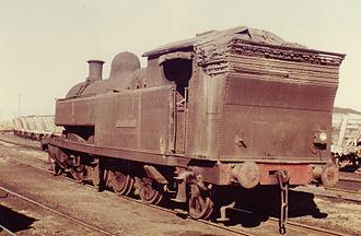 Richmond Vale railway line - No.10 Richmond Main at Hexham, June 1973