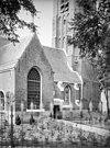 noordzijde van de hervormde kerk, vanuit het noordoosten -
