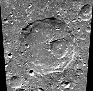 Lemaître (crater) - Image: Normal lemaitre clem 1