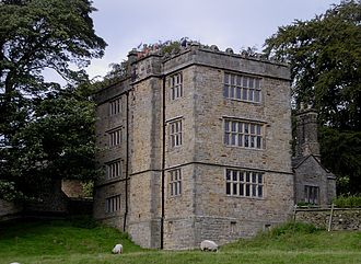 Hathersage - North Lees Hall