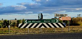 North Star to Moree sign.JPG