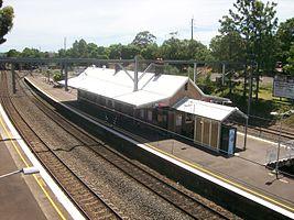 North Strathfield railway station