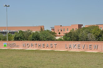 Northeast Lakeview College - Image: Northeast Lakeview College sign