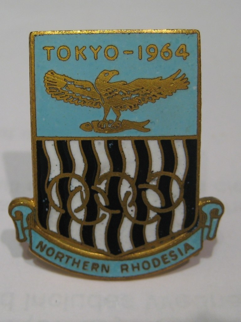 Northern Rhodesia Olympic Badge