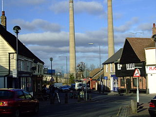 Northfleet Human settlement in England