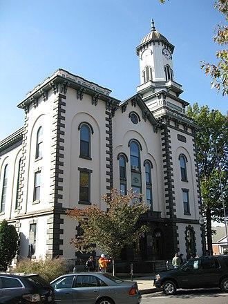 Northumberland County Courthouse - Image: Northumberland County Courthouse Oct 09