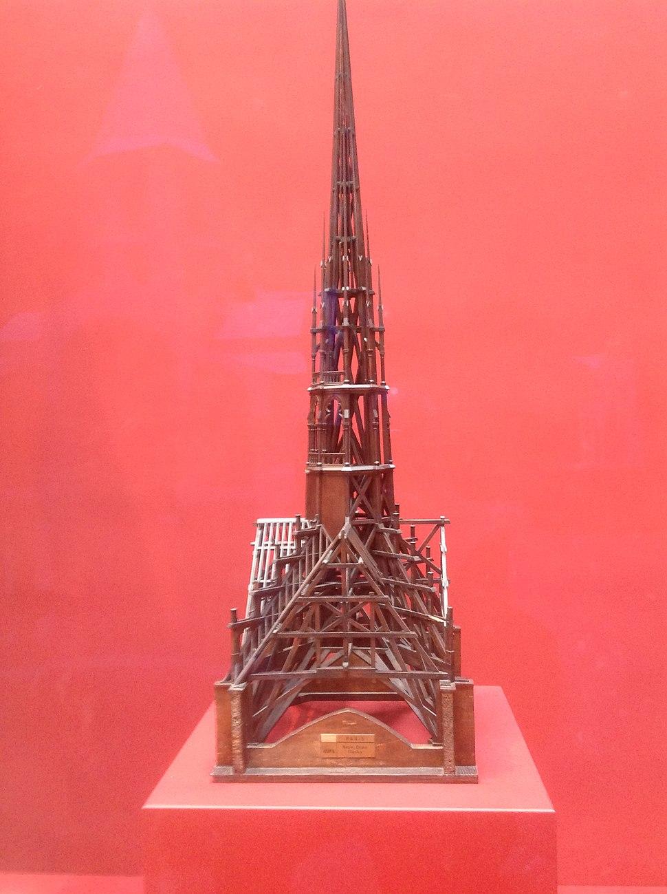 Notre-Dame Spire Model (1859)