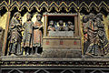 Notre-Dame de Paris, relief of supper at Emmaus , 2013.jpg