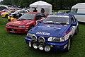 Nottingham Autokarna MMB 07 Subaru Impreza and Ford Escort.jpg