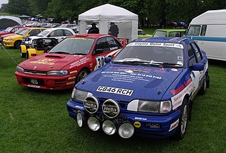 Wollaton Park - Rally cars at Nottingham Autokarna 2012.