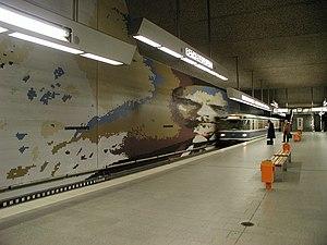 Rathenauplatz (Nuremberg U-Bahn) - Image: Nuernberg Rathenauplatz U 1