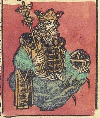 Rupert, King of Germany - King Rupert, Nuremberg Chronicle, 1493