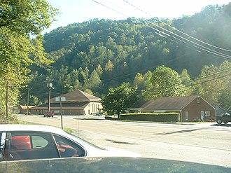 Oakwood, Virginia - View of Oakwood, circa 2002