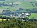 Oberhambach, Schulstraße - vom Aussichtsturm Hattgenstein aus gesehen - panoramio.jpg