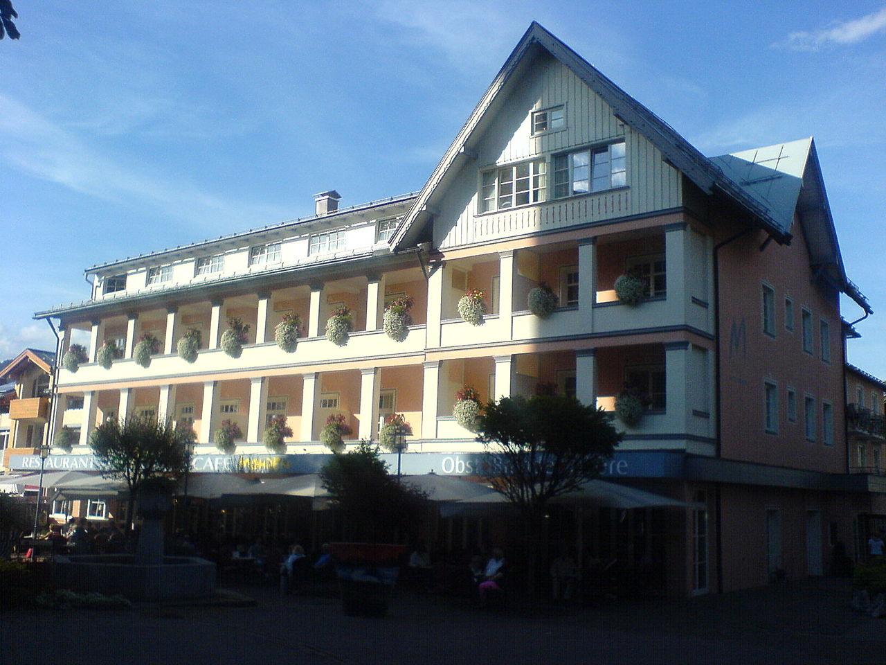 Hotel Oberstdorf  Sterne Klaus Schmitt
